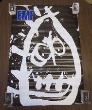 """Vintage Rare 1991 Emf Schubert Dip Promo 23"""" x 33"""" Music Poster"""