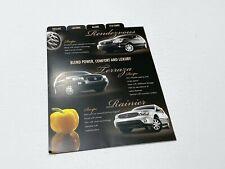2007 Buick Enclave Lucerne Allure Preview Brochure