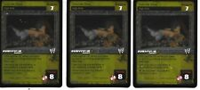 WWE RAW DEAL - 3X SS3 FOIL Suicide Dive - FREE SHIPPING* PLAYSET Rare