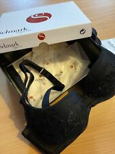 Bra 32C New Tagged Boxed Black Selmark Lingerie New Tagged