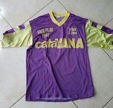 MATCH WORN SHIRT MAILLOT PORTE TOULOUSE FC TFC réserve ? Vintage 1990 1991