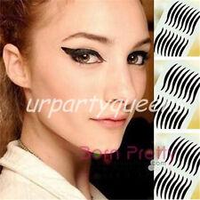 8Pair Wild Cat Eyes Design Temporary Eyeliner Eye Liner Eyeshadow Sticker Tattoo