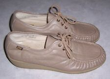SAS Siesta Womens Size 11M Mocha Leather Oxfords Comfort Walking Shoes