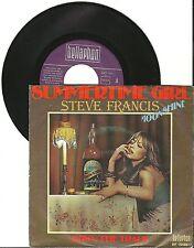 Steve Francis Summertime girl, G/VG, 7'' Single, 3969
