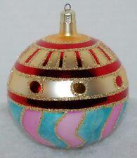 Radko Vienna 1901 Ball Christmas Ornament 91-127-0 Hard To Find
