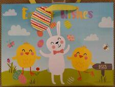 Easter Gift Bag, Perfect Gift (large, Tag & Bag Seal) Bunny Design
