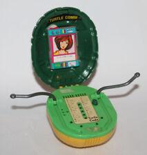 1991 Teenage Mutant Ninja Turtles Turtle Comm Communicator & Cards TMNT