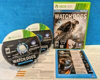 Watch Dogs - Walmart Edition (Microsoft Xbox 360, 2014) Tested & working