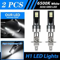 2X MINI H1 LED Headlight Bulbs Conversion Kit 100W 14000LM 6500K Hi/Lo Beam Lamp