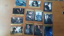 Game of Thrones Season 8 Lot of 12 Gold Foil Parallel Cards