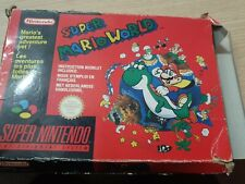 Super Mario World SNES Red Box Version