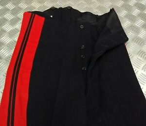 Genuine Vintage British Army Dress Trousers Life Guards H Cav Faulty EBYT402