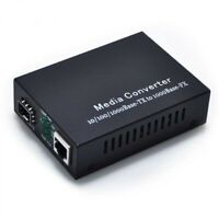 Conversor de medios UTP 10/100/1000 a SFP Gigabit Ethernet Fiber