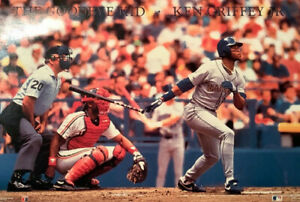 1990 Ken Griffey Jr The Goodbye KID poster Costacos MINT Factory Sealed Mariners