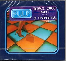 ★ MAXI CD PULP	Disco 2000 4-track (Part 1) Digipack  STICKER FRANCE NEW SEALED ★