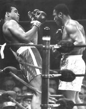1971 Boxing Muhammad Ali & Joe Frazier Glossy 8x10 Photo Heavyweight Fight Print