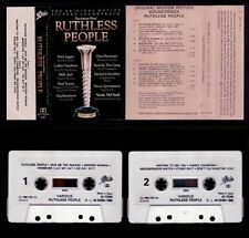 RUTHLESS PEOPLE - SOUNDTRACK - SPAIN CASSETTE EPIC 1986 - EXCELLENT / NEAR MINT