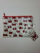 SANRIO HELLO KITTY Zipper Make-Up Pencil Camera Bag COSMETIC Zippered Pouch NEW