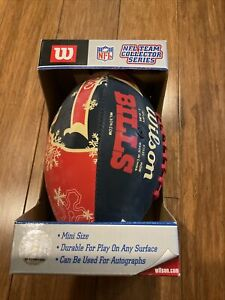 Buffalo Bills NFL Collectors Series Wilson mini football 2002