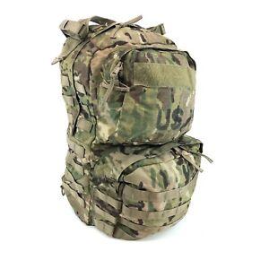 USGI Medium Combat Rucksack, US Army MOLLE Ruck Backpack, Multicam NO FRAME