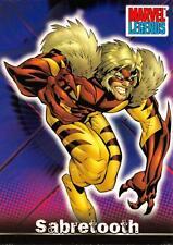 SABRETOOTH / Marvel Legends (Topps 2001) BASE Trading Card #65