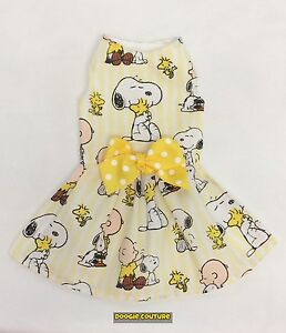 Friends For Life Dog Dress Size XXXS-LARGE by Doogie Couture