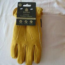 Kent & Stowe Leather Luxury Gardening Gloves Size M Ladies pruning Digging NEW