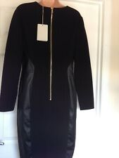 Emilio Pucci black wool dress size 16 UK or 48 EU