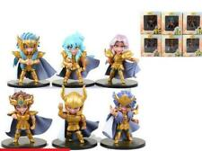LOT DE 5 FIGURINES SAINT SEIYA 10 CM LES CHEVALIERS DU ZODIAQUE PVC OR