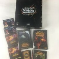 World of Warcraft Cataclysm Collector's Edition some sealed items