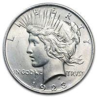 1922-1925 Peace Silver Dollars BU (Random Years) - SKU #170