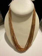 Gold Tone Necklace Lot 24 Necklace Chains - Wholesale Wear Craft Jewelry Making