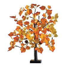 Lighted Fall Maple Tree Autumn Harvest Tabletop Centerpiece Thanksgiving Decor