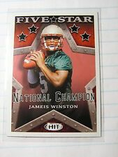 Jameis Winston 2015 Sage Hit Five Star Champion  College / Rookie Card NFL 148