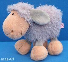 NICI Pecora Agnello Schlenker Jolly montone 20 cm grigio peluche sheep