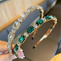 Women Girl Bling Gem Crystal Rhinestone Hairband Hair Head Band Headband Hoop