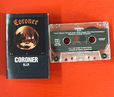 CORONER on Noise —R.I.P.— thrash speed metal cassette tape