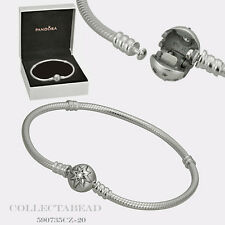 "Authentic Pandora Starry Sky Clasp Bracelet 6.7"" Hinged Box 590735CZ-17 LAST ONE"
