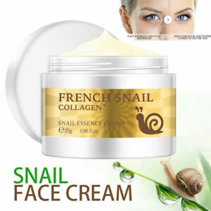 Snail Face Cream Hyaluronic Acid Anti Wrinkle Collagen Moisturizer Original UK