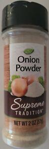 Culinary Onion Powder Seasoning 2 oz (56g) Flip-Top Shaker