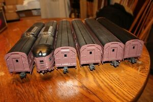 "Williams Electric Trains  ""60 Foot"" Norfolk & Western Set of 6 Passenger Cars"