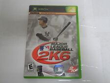 Major League Baseball 2K6 (Microsoft Xbox, 2006) GB-1