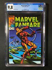 Marvel Fanfare #23 CGC 9.8 (1985) - Iron Man cover