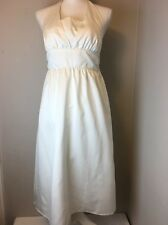 Marilyn Monroe White Halter Dress Target Hollywood Collection Size 4 Limited Ed.