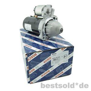 Anlasser Starter MERCEDES E-KLASSE W210 E 200 220 CDIl Diesel ORIGINAL BOSCH NEU