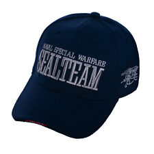 US Army Cap Navy Seal Tactical Hat Blue Adjustable