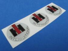 Ihc International Harvester Truck Domed Decal Emblem Sticker Set Of Three #264