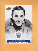 2017 18 LEAFS CENTENNIAL SP #161 FRANK MAHOVLICH TORONTO MAPLE LEAFS * FREE SHIP