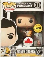 Funko Pop! NHL 31 SIDNEY CROSBY CHASE Stanley Cup Canadian Exclusive Pens NIP