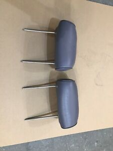 1994 -1997 FORD Thunderbird Cougar FRONT HEADREST GRAY LEATHER OEM